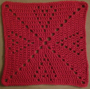 Valentine washcloth 6