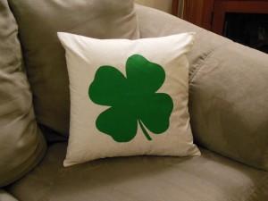 Shamrock Pillow