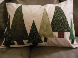 Tree pillow rectangle