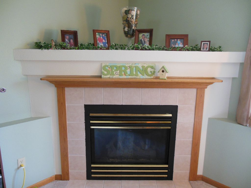Spring sign - 6 - on mantel