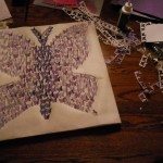 Butterfly canvas 1