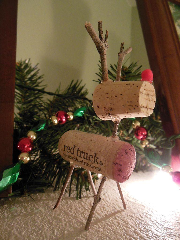 Wine Cork Bottle Cap Christmas Ornaments Blythe Musings