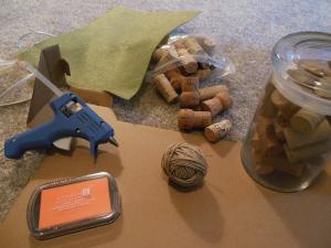 cork pumpkin materials