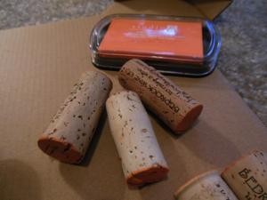 Pumpkin corks