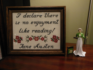 Jane Austen Cross Stitch