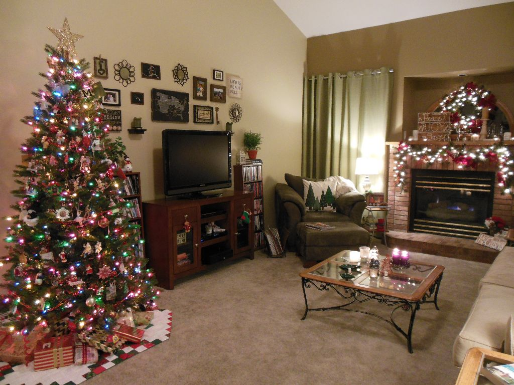 Christmas Living Room 2014