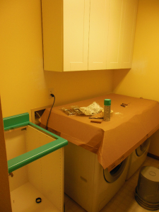 Laundry Room - in progress 2