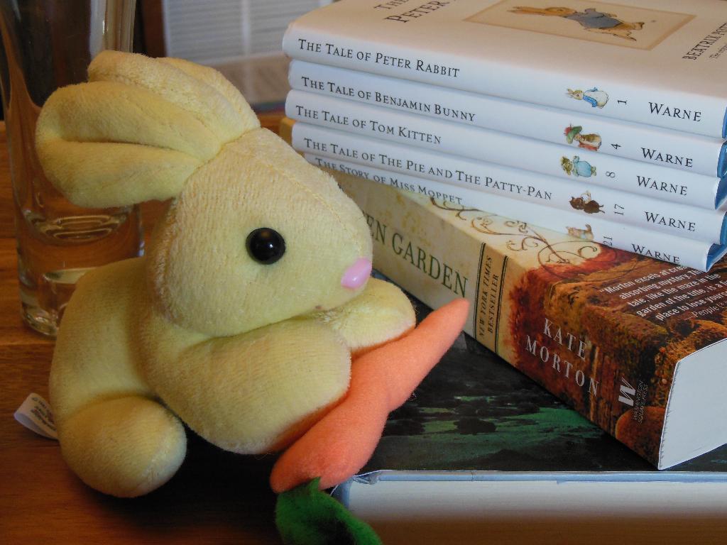 Bunny & books spring 2015