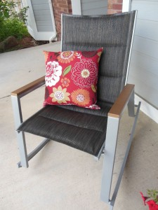 Front porch rocking chair - mjblythe.com