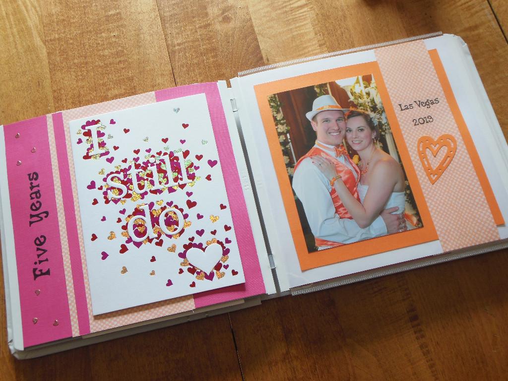 anniversary card book - vegas - mjblythe.com